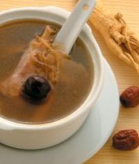 Ginseng & Chicken Soup